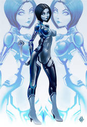 cortana by Wolfenborg