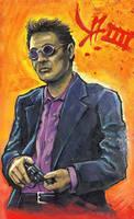 Takeshi Kitano by gillendil