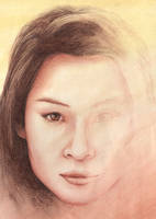 Lucy Liu by gillendil