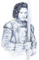 Game of Thrones - Jon Snow by gillendil