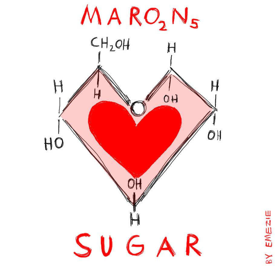 SUGAR (Maroon 5 fan art) by Emezie on DeviantArt