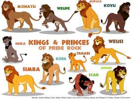 Kings and Princes of Priderock by Sulka