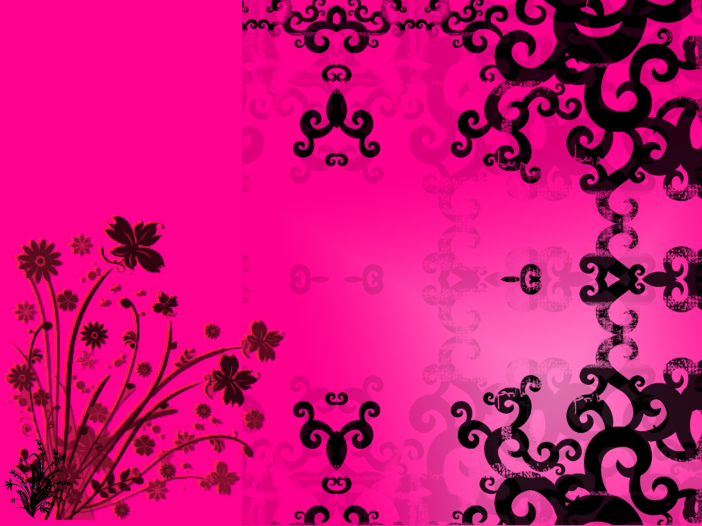 pink and black wallpaper by haruhi15 on DeviantArt  pink and black ...