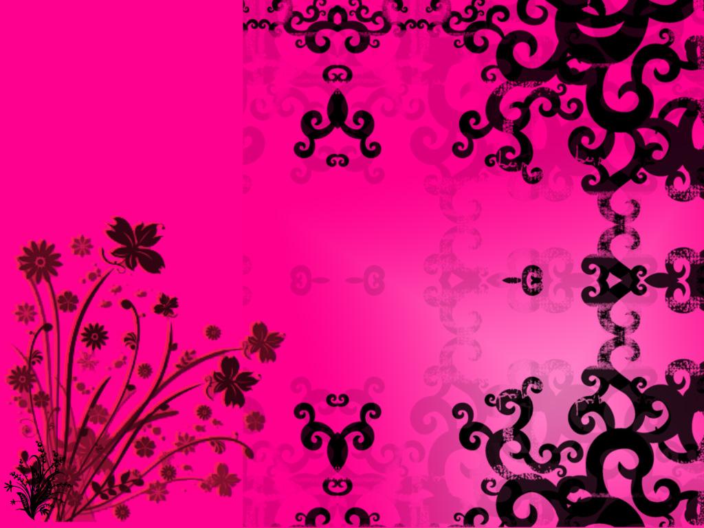 hot pink paisley background - photo #34