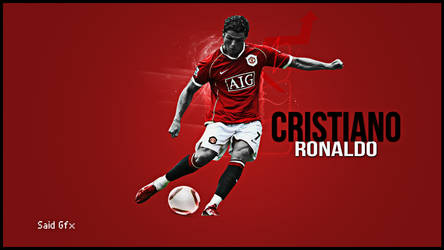 New Wallpaper To C.Ronaldo by mostafa4ever