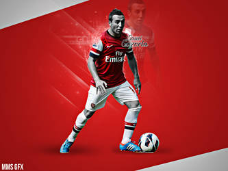 New Wallpaper To Santi Cazorla by mostafa4ever