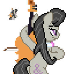 Octavia back sprite 4.0