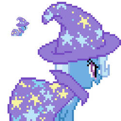 GAP Trixie Lulamoon back sprite with hat