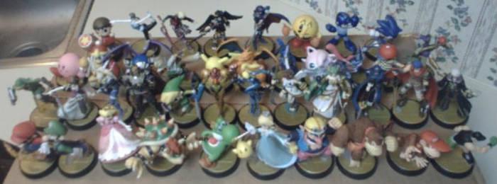 My amiibo Army