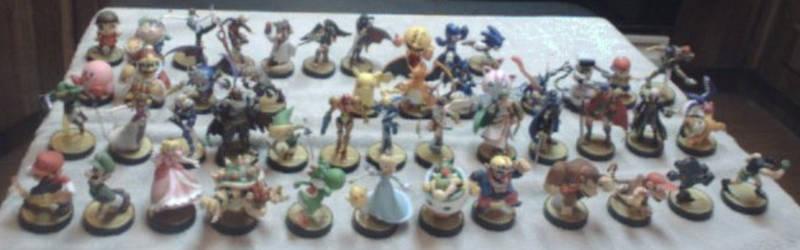 My amiibo Army!