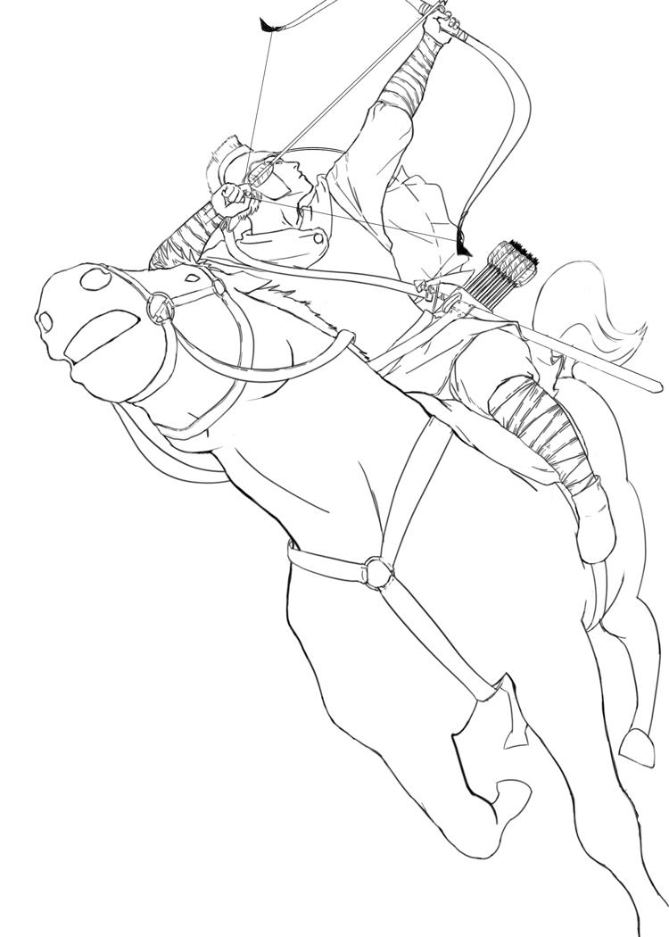 Byzantine Horse Archer by nik1979