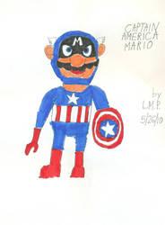 Captain America Mario by lukio5000