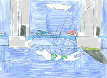 River Thames splash by lukio5000