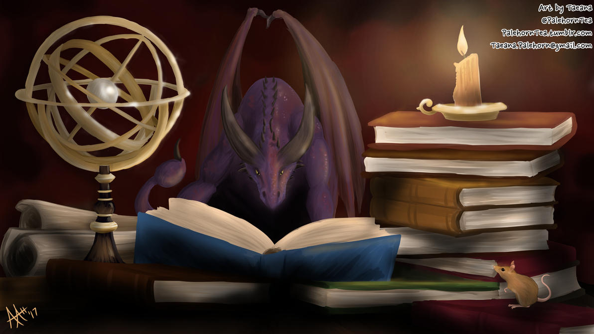 Terexaltherin's Study by SilverWarden7