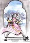 Durga on the portal paradaise by Amiki-Zorsez