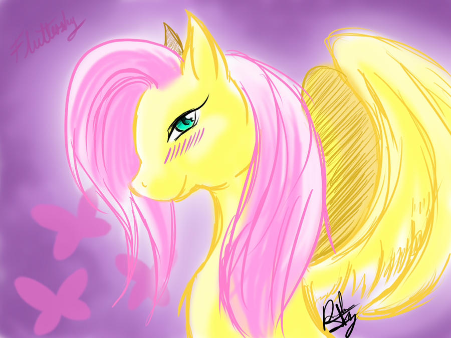 My loved Flutteshy by Amiki-Zorsez