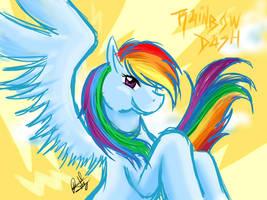 Rainbow Dash by Amiki-Zorsez