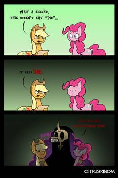 Pinkie Apple Pie: Alternate Ending