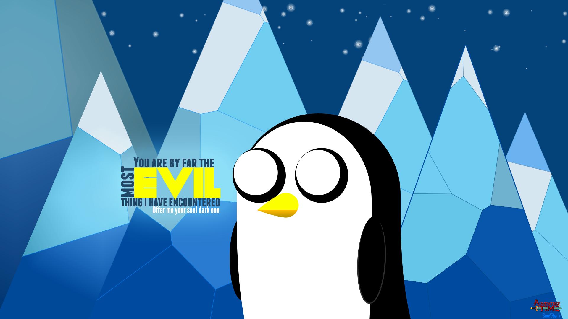 Adventure Time Gunter Evil By Sfang On Deviantart