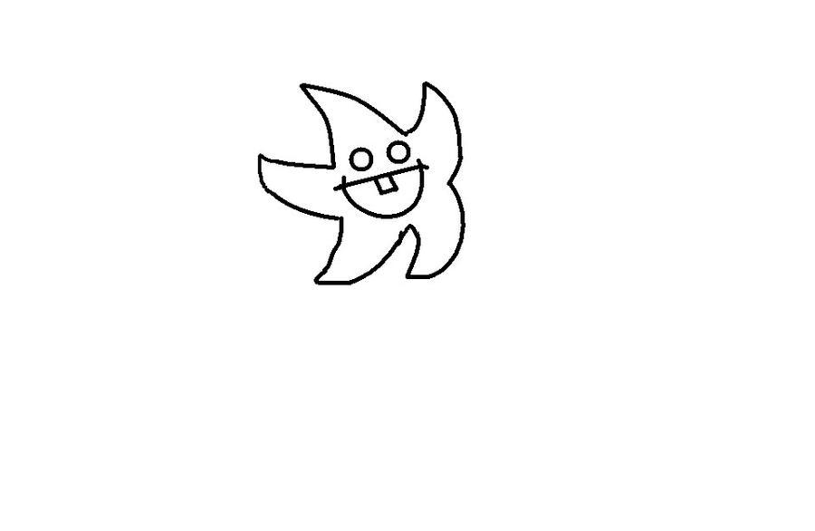 Line Art Star : Line art star by blizzardicefox on deviantart