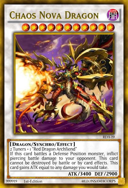 Red Dragon Archfiend Archetype Pack! (YgoPro) Chaos_nova_dragon_by_sauleon-d8dnah1