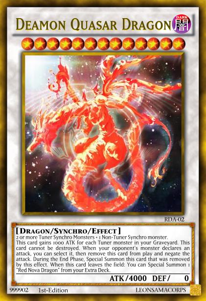 Red Dragon Archfiend Archetype Pack! (YgoPro) Deamon_quasar_dragon_by_sauleon-d8dnah6