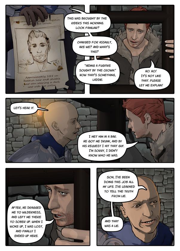 Snakeblade page 33 by SnakebladeComic