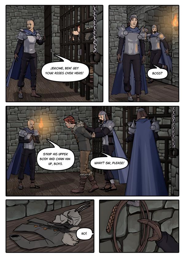 Snakeblade page 34 by SnakebladeComic