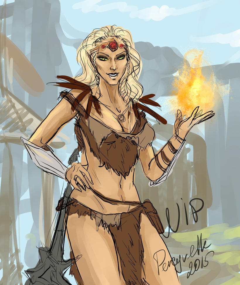 Skyrim - WIP by Percyvelle