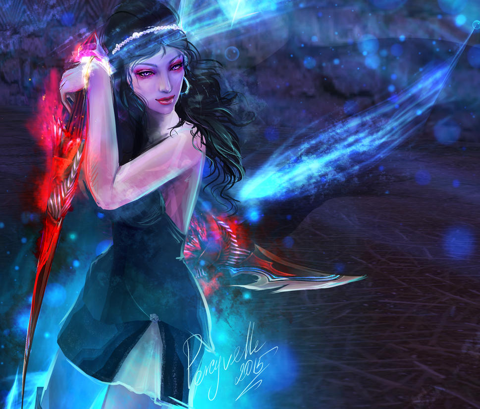 PW - Magic Water - Arsya by Percyvelle