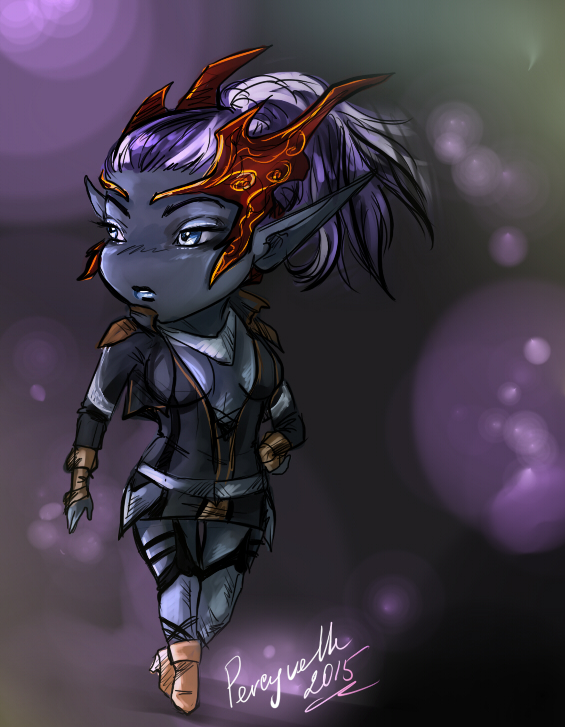 Lineage 2 - Chibi SE by Percyvelle