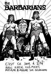 Globicine : 7-05-17 the barbarians