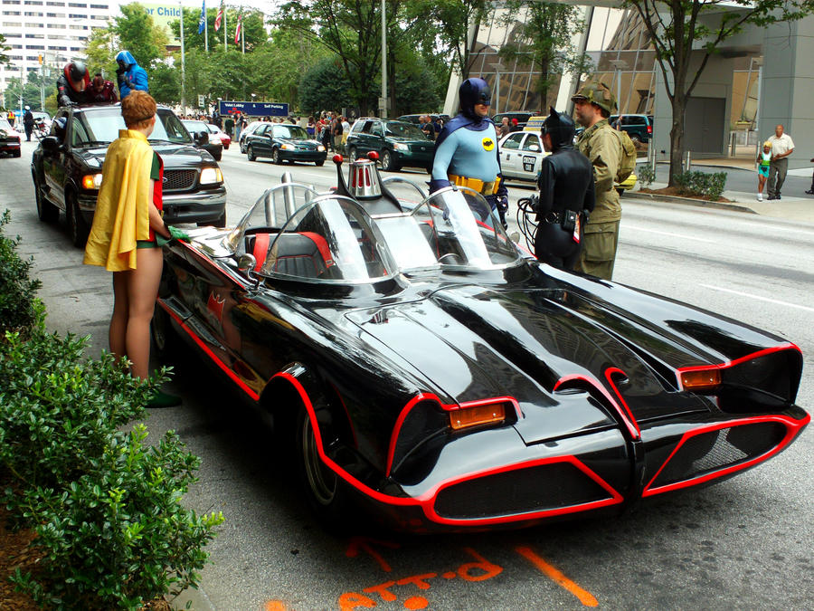 Batmobile by hyperjet