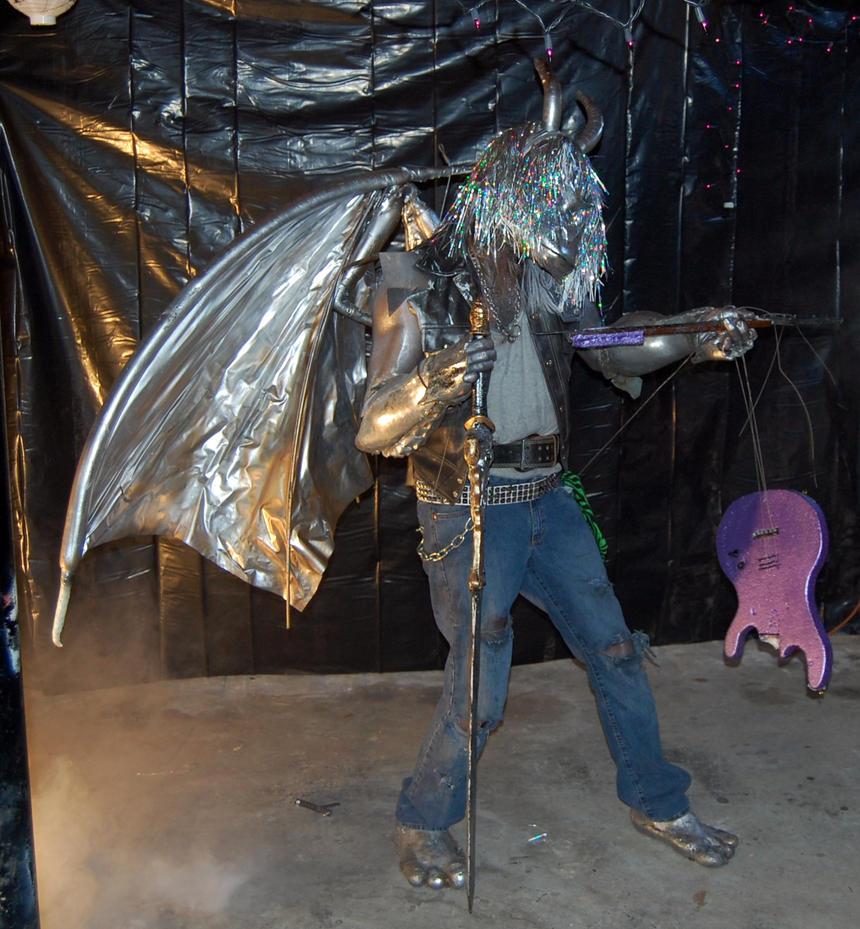 Silver Draconian by hyperjet