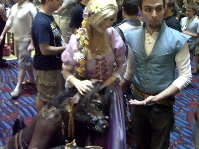 Tangled by hyperjet