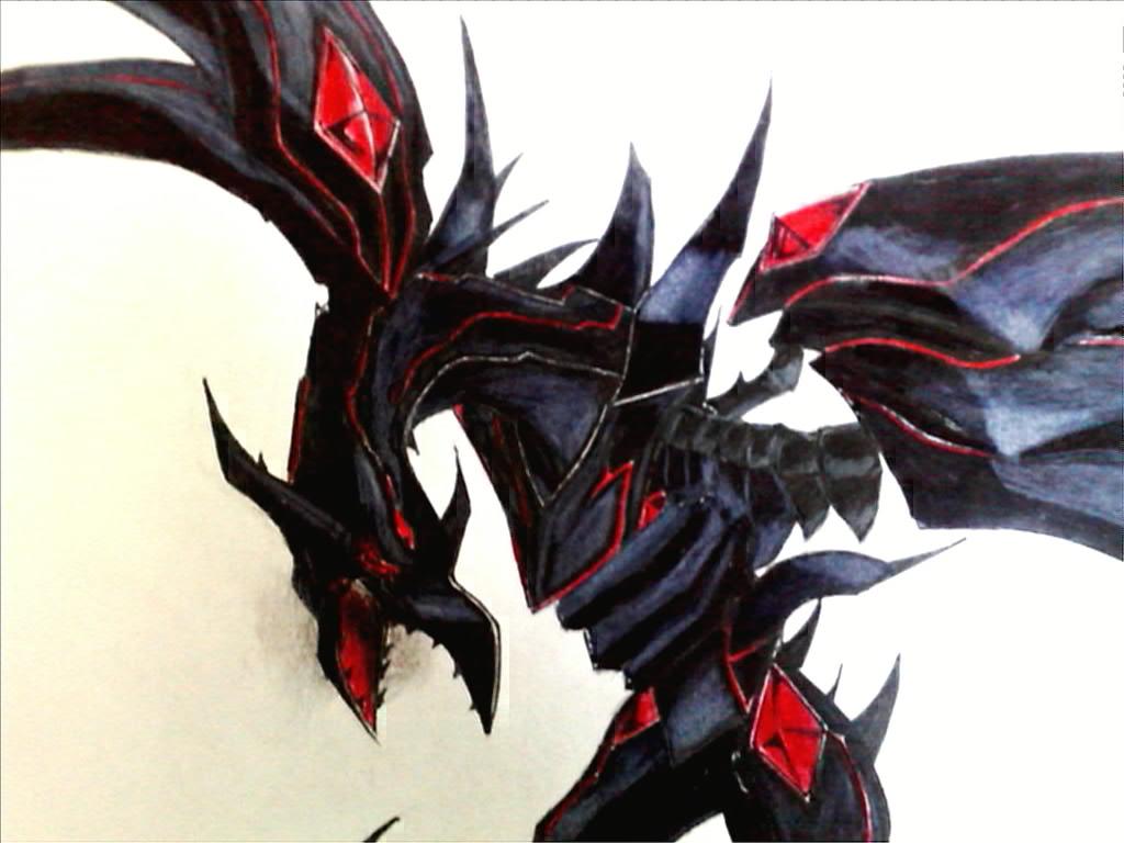 Red Eyes Darkness Dragon By Gravemind1110 On Deviantart