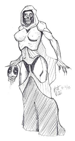 Mrs Death by natenutron