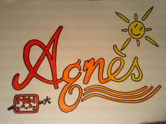 Red sunshine Agnes. by NhoBhodhy