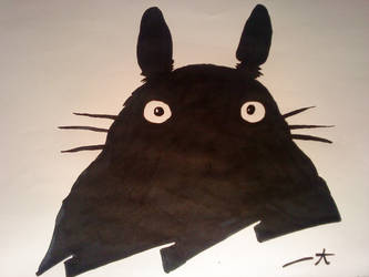 In the shadow of Totoro. by NhoBhodhy