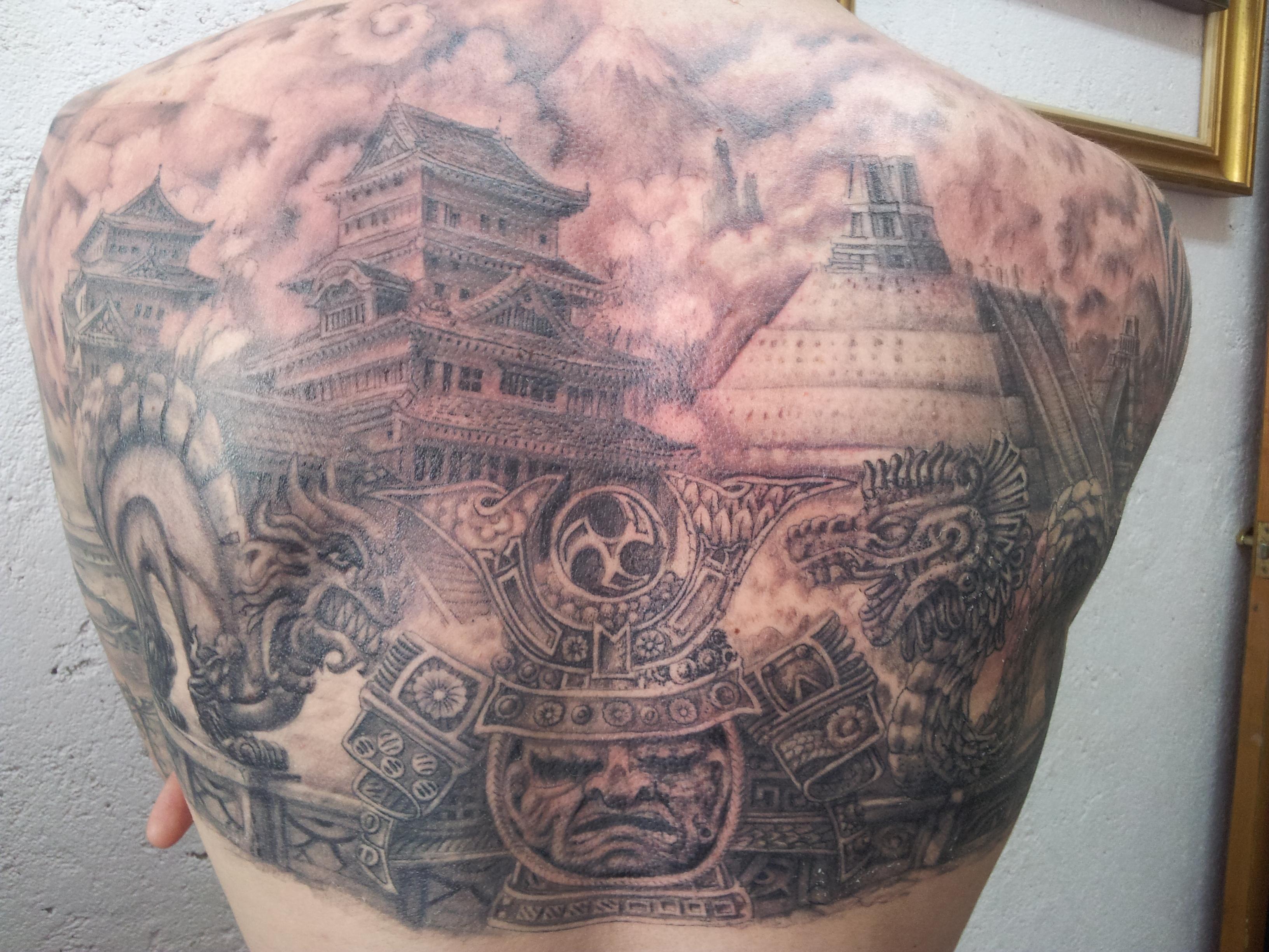 Tattoo Azteca Tango Blast Tattoos