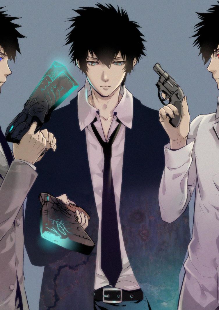 Psycho Pass Psycho Pass 2 Shinya Kogami by