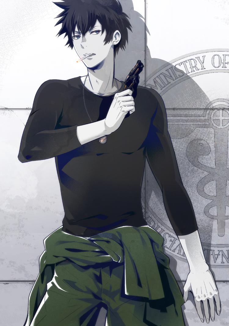 Psycho Pass Psycho Pass Shinya Kogami 6 by