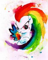 Rainbow Power Rainbow Dash by MashiroMiku