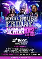 Royal House Frodays - DJ Pepsi by ThaboThabiso