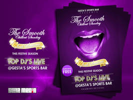 Smooth Chillout Party Poster by ThaboThabiso