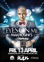 Mr Makhosini - Eyes On Me Poster/Flyer by ThaboThabiso