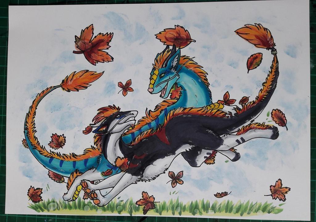 Autumn fun by Ariade
