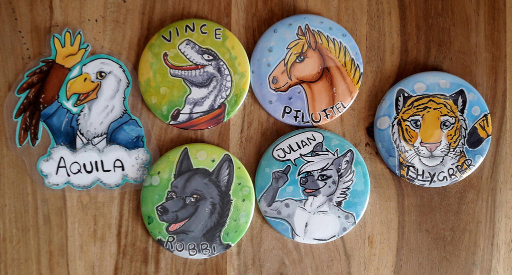 Eastbuttons by Ariade