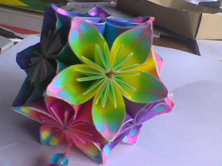 Kusudama Butterfly Colored by Taysk