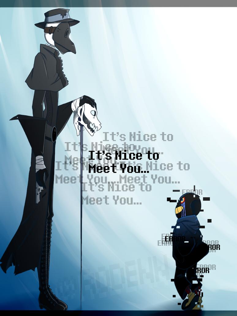 -:It's Nice to Meet You... NEW COMIC:- by Densetsu-Sama